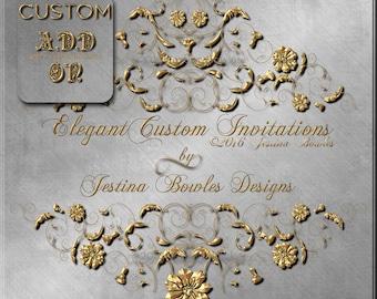 Custom Add-ON Jestina Bowles Designs