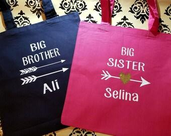 Big siblings bags, Big Brother Bag, Big Sister bag, Arrow bag