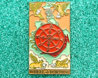 Wheel of Fortune Pin