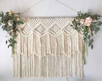Ready to ship! Macramé Backdrop Wall Hanging