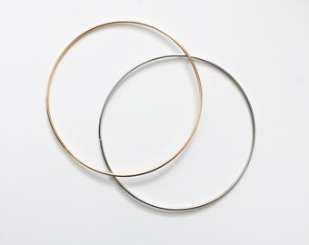 Simple thin bangle, dainty bangle