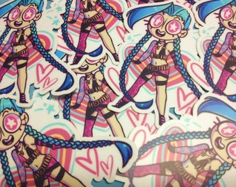 Jinx sticker : League of Legends