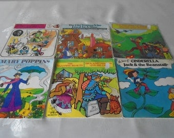 Mr Pickwick children's story 45rpm records x 5 , plus 1 other