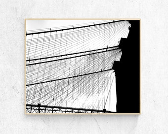 Brooklyn Bridge (black & white)
