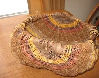 Large Potato Reed Basket