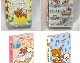 San-X Rilakkuma Book-Style Mini Memo Pad