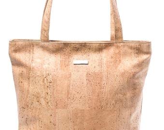 Handbag bak Cork Cork leather tote shoulder bag Shoulderbag Cork Cork bag