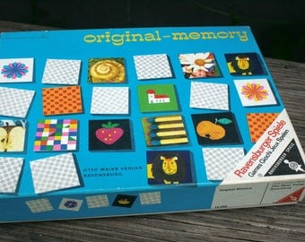 Ravensburger memory 1959 excellent condition rare table