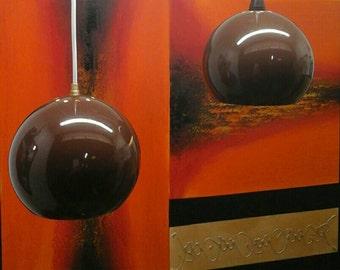 Danish Kugle/globe pendant lights