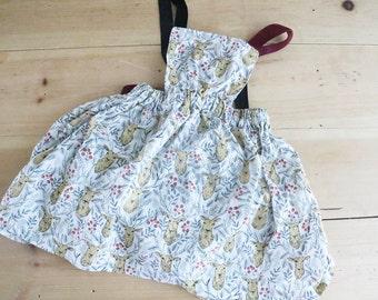 Toddler Girl Apron Dress