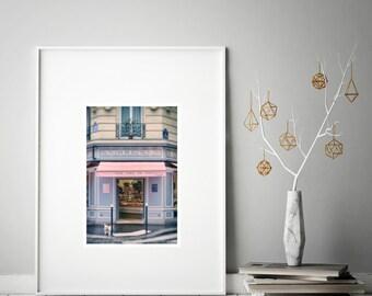 Paris photography, Pastel wall art, Large Wall Art Prints, Romantic, Paris prints, French print, Paris photo, French boulangerie, Home decor