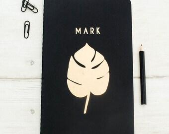 Luxury Botanical Personalised Notebook