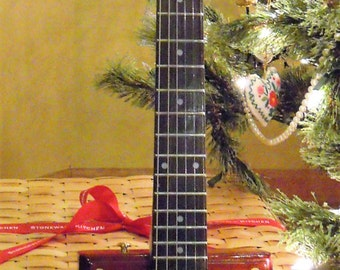 6 String Electric Cigar Box Guitar 2016-37