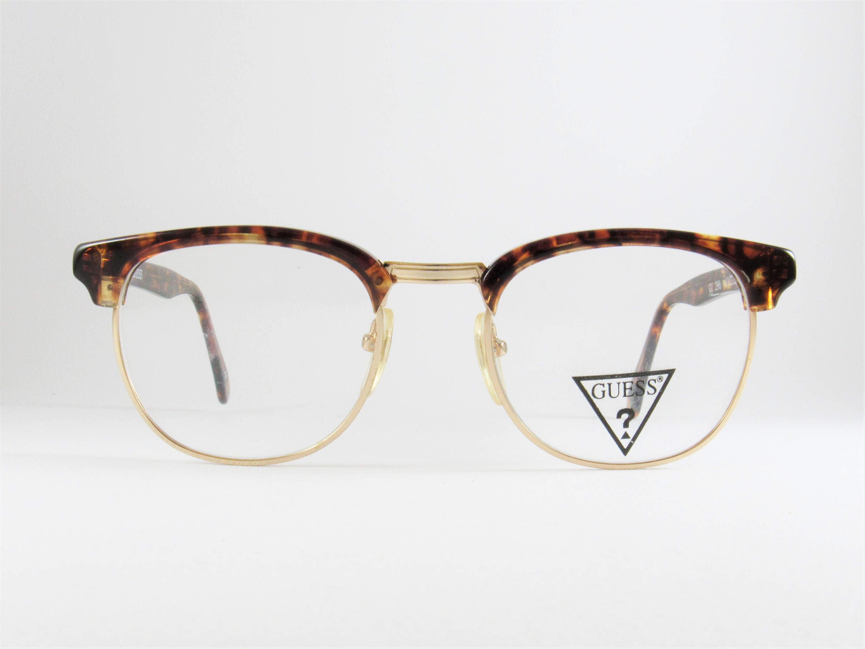 Vintage Glasses Frames, Guess, Mens Sunglasses, Gift for Him ...