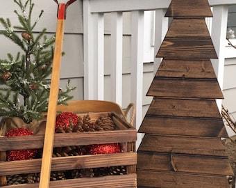 wood tree short wood christmas tree rustic wood tree wooden - Wooden Christmas Trees