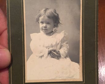 1800s Baby Girl Photography . Vintage baby girl photography . Antique photo