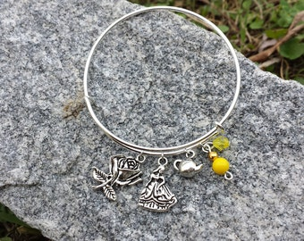 Disney Beauty & the Beast Belle Charm Bracelet