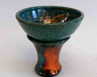 Melting light / candle residue burner Raku-petrol