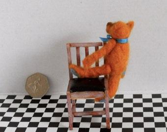 Teddy bear, Little bear, Miniature bear, Cute teddy bear, Ooak teddy, Felted teddy, Needle felted bear, Cute bear, Christmas gift for her