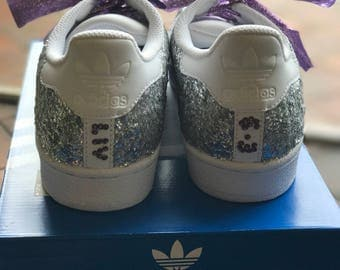 Glitter Adidas Superstars