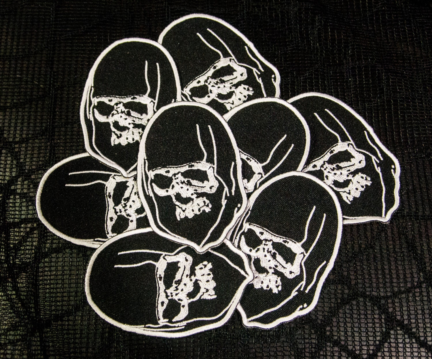 Reaper Embroidered Patch