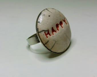 "Ring ""happy"" SALE"