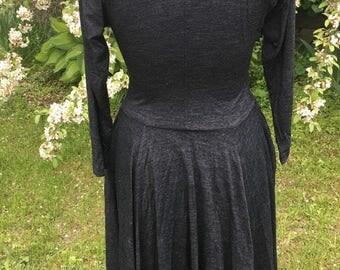 Grey Vintage Woman's Dress.