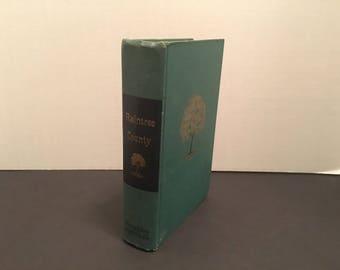 Raintree County, Ross Lockridge Jr., Printed in Boston,1948 By Houghton Mifflin Company