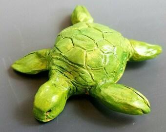 Kim Ruff Original Sea Turtle Clay Whistle