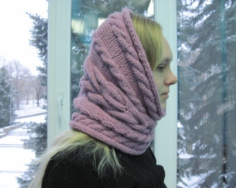 fashion women-scarf cowl-snood-winter-women knitted-hand chunky-scarf cowl-tube-gifts for friends-gifts for sister-christmas gifts-for-her