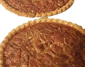 Pecan Pie, homemade pie, homemade baked goods, bakery, baked pie, specialty food, gourmet food, edible gift
