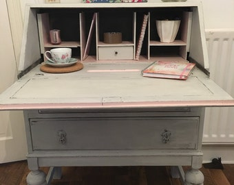 Shabby chic desk Etsy