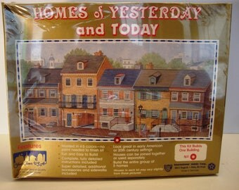 HO Scale Building Kit  Homes of Yesterday and Today