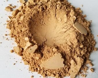 All Natural .5oz Medium Fair Powder Mineral Concealer Foundation Vegan