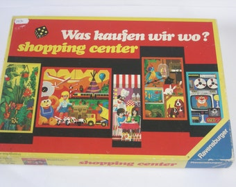 Shopping Center Ravensburger Game, a game for 2 - 6 players from 7 years