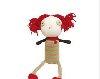 Girl sock doll