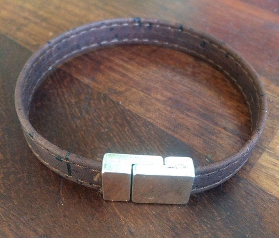Brown Portuguese Cork Bracelet