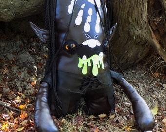 Lord of the Rings Urak-hai Orc Lurtz. Plush toy fan art plush monster.