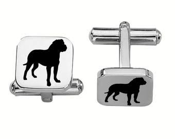 Boxer Cufflinks | Dog Cufflinks | Custom Cufflinks | Stainless Steel