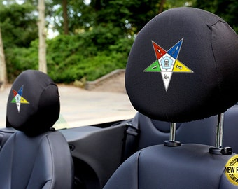 Order of the Eastern Star Auto SUV Head Rest Covers
