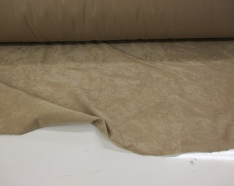 Beige Brushed Suede Effect Blanket/Pet Bed Fabric. Price Per Metre!