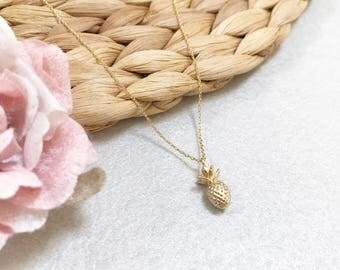 Pineapple Necklace ~ Silver/Gold/RoseGold