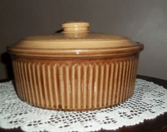 Ovenware?  Serving covered dish, made in USA