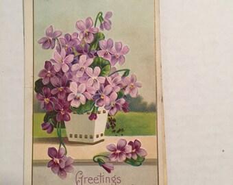 Vintage Postcard Greetings