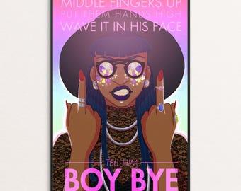 BOY BYE - 11x17 print