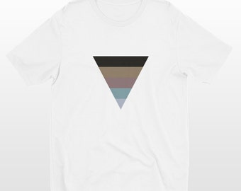 Triangle Shirt | Triangle T-Shirt | Modern Clothing | Unisex Short Sleeve |