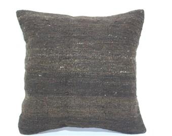 Bohemian Kilim Pillow Throw Pillow Sofa Pillow 20x20 Naturel Kilim Pillow Organic Kilim Pillow Throw Pillow Fllor Cushio Cover SP5050-1478
