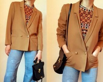 Early GIANNI VERSACE Wool Cashmere Jacket Blazer