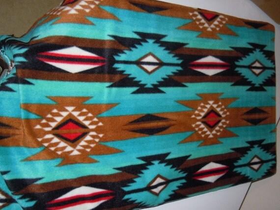 Native American Inspired Blanket Western Inspired Blanket