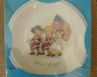 Vintage collector plate by Brownie